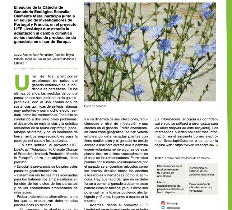La importancia de las Plantas Antiparasitarias en ganadería ecológica