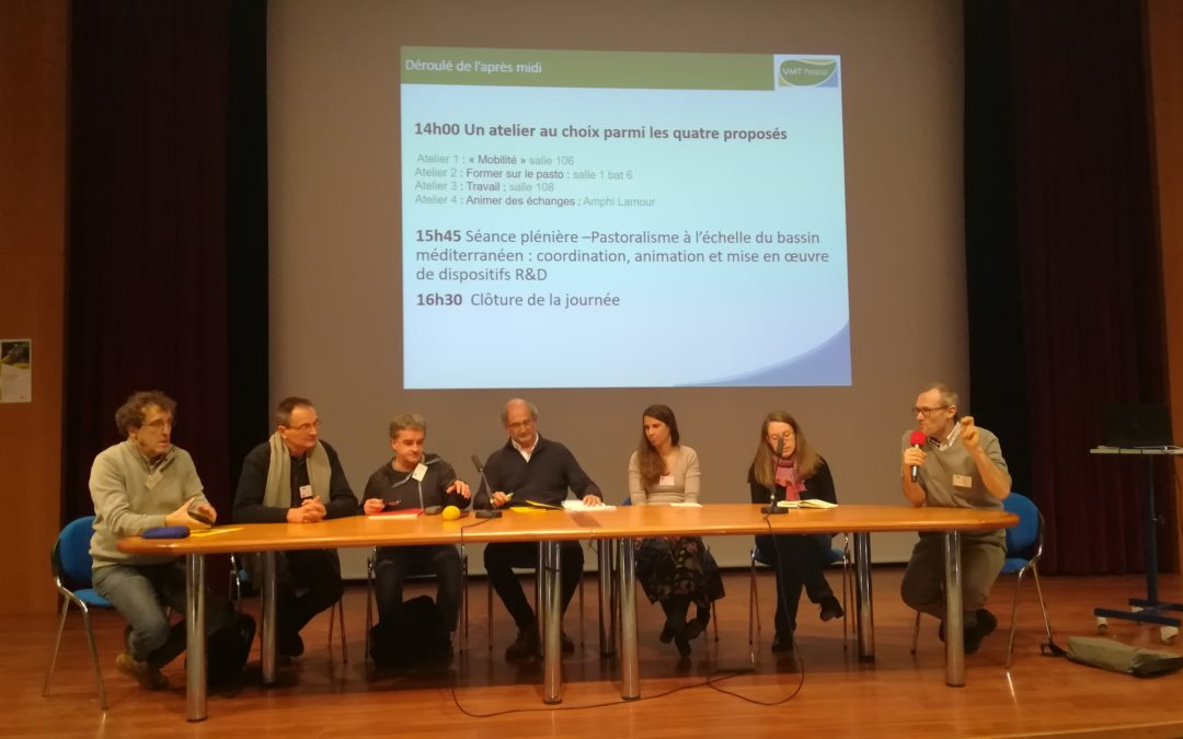 Apresentação do projeto LiveAdapt na Jornada Anual da UMT Pasto (Unité Mixte Technologique)