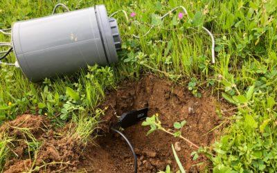 Sensores de temperatura y humedad edáficas para estudiar el efecto del clima sobre la produccion de pastos