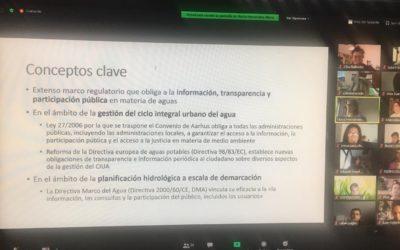 Gestión del Ciclo urbano del agua en Extremadura