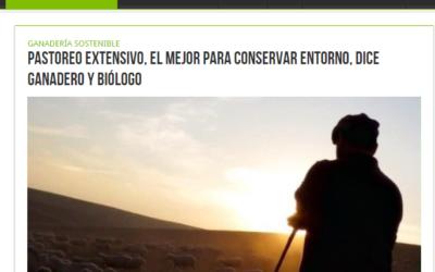 Pastoreo extensivo, el mejor para conservar entorno