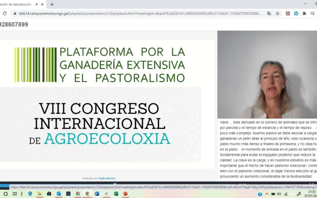 LiveAdapt en el VIII Congreso de Agroecologia de Vigo