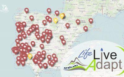 Mapa de participantes en el curso 1 de Ganadería Extensiva y Cambio Climático.